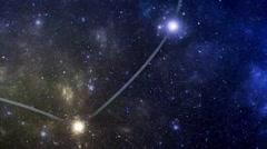 Constellation Auriga (Aur) Stock Footage