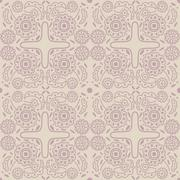 Old-fashioned outline pattern Stock Illustration