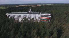 Paimio Sanatorium Stock Footage