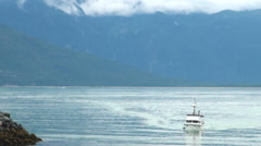 Haines - The Adventure Capital of Alaska - Travel Destination USA Stock Footage