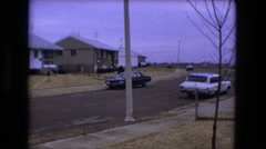 1973: looking for the perfect home on this street, this is the one for me Stock Footage