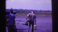 1979: preparing to fly away soon... Stock Footage