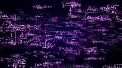 Background Mathematic Code Numbers, Loop, 4k Stock Footage