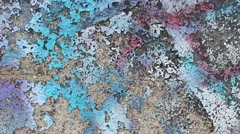 Wall concrete texture colorful  background Stock Footage