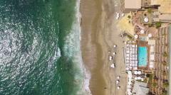 Pool & Resorts in Laguna Beach, California Stock Footage