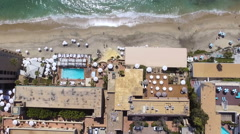 Resorts in Laguna Beach, California Stock Footage