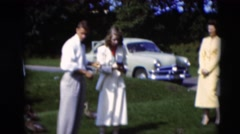 1951: about to have the time of my life. WILLMAR, KENTUCKY Stock Footage