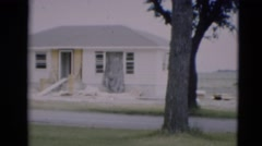 1951: a residential area is seen WILLMAR, KENTUCKY Stock Footage