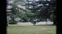 1951: the person at the end WILLMAR, KENTUCKY Stock Footage