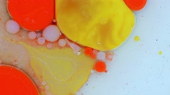 Colorful Bubbles in a Water Stock Footage
