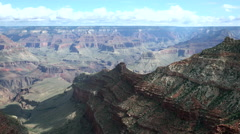 Zoom in Grand Canyon Stock Footage