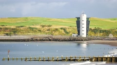 The Marine Operations Centre at Pocra Quay in Aberdeen, Scotland. Stock Footage