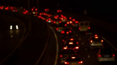 Congestion on the autoban Stock Footage