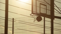 The Ball is in the Basket Stock Footage