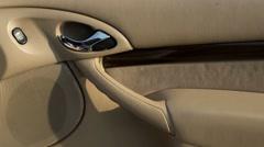 Wash Car Interior Doors Stock Footage