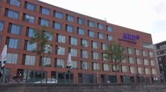 ARD TV station studio in Berlin - ARD Hauptstadtstudio Stock Footage