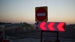 Road repairs. Stock Footage