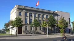 The Embassy of Switzerland in Berlin Stock Footage
