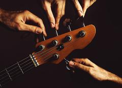 Five Strings Bass Guitar Kuvituskuvat