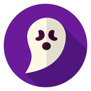 Ghost Circle Icon Piirros
