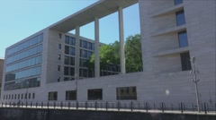 Department of Foreign Affairs - foreign ministry in Berlin Germany Stock Footage