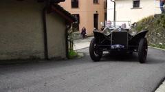 Lancia Lambda model Stock Footage
