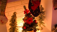 Christmas Decorations. Stock Footage