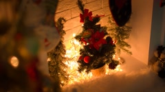 Warm Christmas Eve Stock Footage
