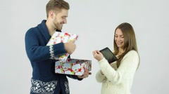 Present for the New Year Stock Footage