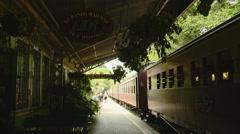 Kuranda Scenic Railway Tea Room Exterior Stock Footage