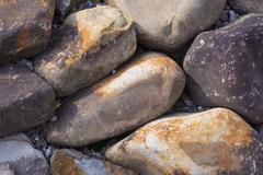 Stones background. Natural minerals Stock Photos