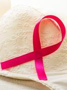 Breast cancer awareness concept. Stock Photos