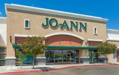 Jo Ann Fabrics and Crafts Store Exterior Stock Photos