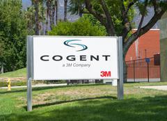 Cogent Manufacturing Faciltiy Exterior and Logo Kuvituskuvat