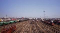 Train Rides Stock Footage