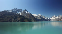 The Inside Passage Ocean At Glacier Bay National Park Alaska Stock Footage