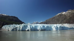 The Margerie Glacier In Glacier Bay National Park And Preserve Alaska Stock Footage