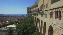 Panorama of Cagliari, Sardinia.  Stock Footage