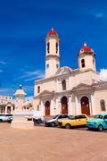 TRINIDAD, CUBA - SEPTEMBER 12, 2015:  Capital of Cienfuegos Province, is a city Stock Photos