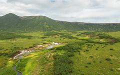 Uzon Caldera in Kronotsky Nature Reserve on Kamchatka Peninsula Stock Photos