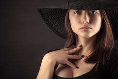 Surprised Mixed Race Korean Russian girl Kuvituskuvat