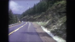 1962: driving down the roadway. COLORADO Stock Footage