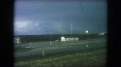 1962: a view from a car is seen COLORADO Stock Footage