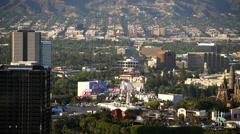 San Fernando Valley 03 Universal City 4K Stock Footage