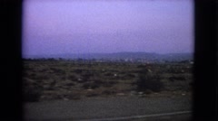 1963: a scene of a side view from a road BARRINGTON, ILLINOIS Stock Footage