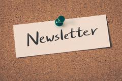 Newsletter Stock Illustration
