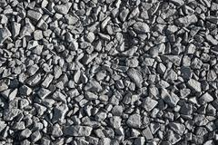 Crushed limestone aggregate Stock Photos