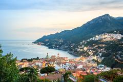 Vietri Sul Mare, Amalfi Coast, Salerno, Italy Stock Photos