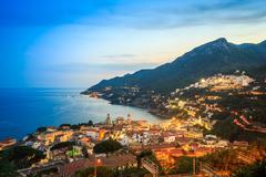 Vietri Sul Mare, Amalfi Coast, Salerno, Italy Stock Photos