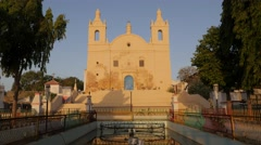 Museum and park,Diu,India Stock Footage